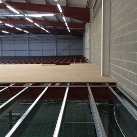 Mezzanine floors made to fit your space