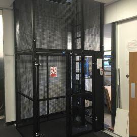 Mezzanine floor goods lifts-2