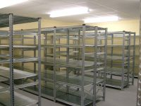 Metal Stockroom shelving