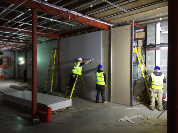 Warehouse fit out  refurbishemnt by shelf space limited