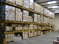 Wide aisle racking is very common in the uk