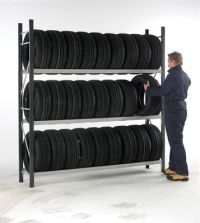 Automotive and tire shelving