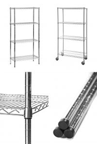 Kitchen static and mobile shelving