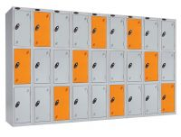 Storage lockers for offices